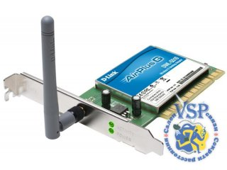 Сетевая плата D-Link DWL-G510 Wireless PCI